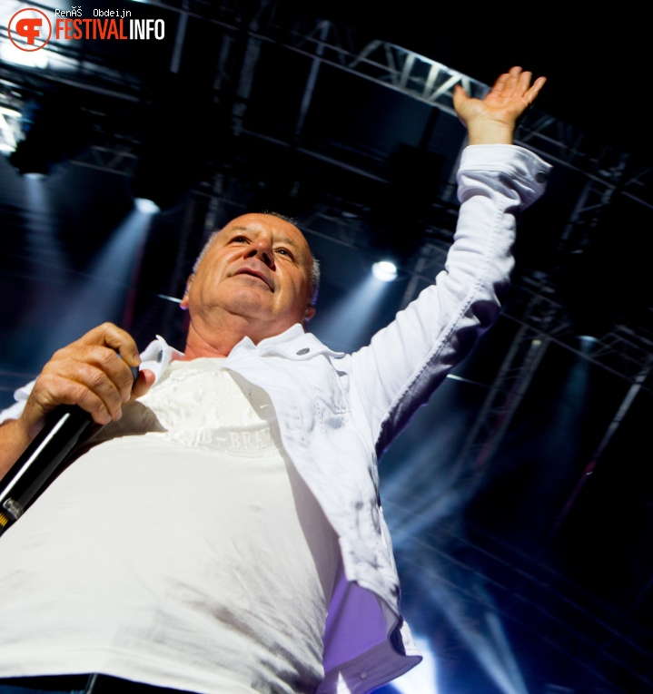 Simple Minds op Bospop 2018 foto