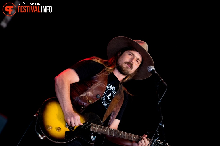 Lukas Nelson & Promise Of The Real op Bospop 2018 foto