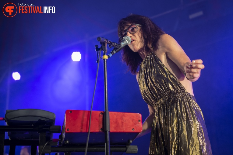 Foto Joan As Policewoman op Welcome To The Village 2018 - zondag