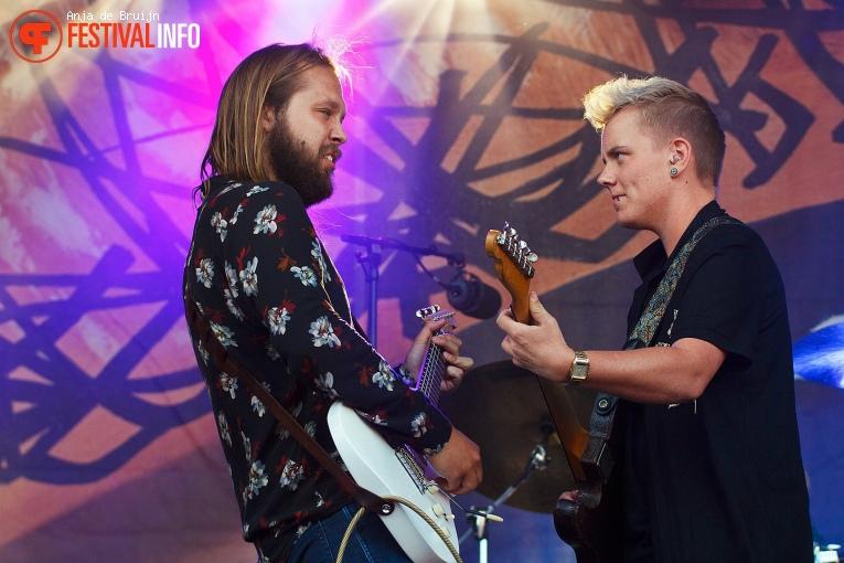Foto Leif de Leeuw Band op Waterpop 2018