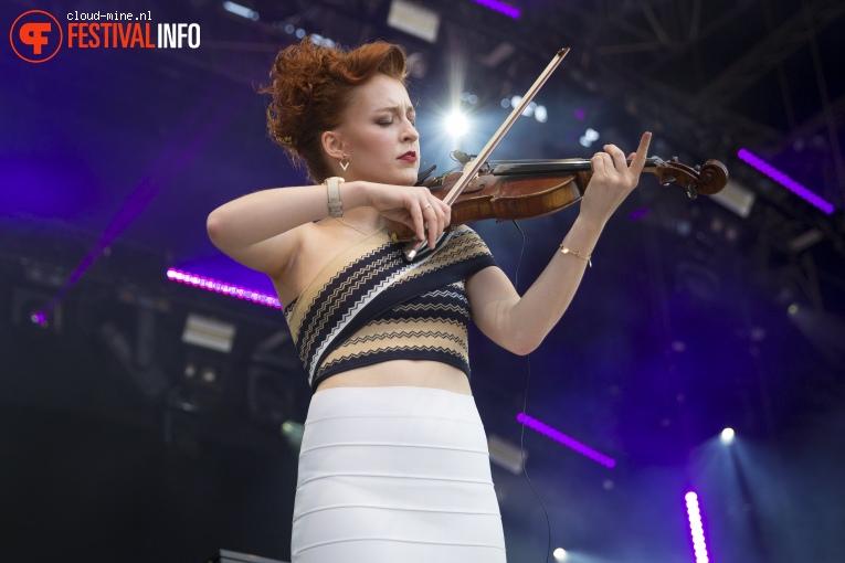 Foto Camille & Jullie op Paleo Festival 2018