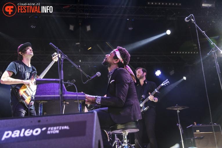 Algiers op Paleo Festival 2018 foto