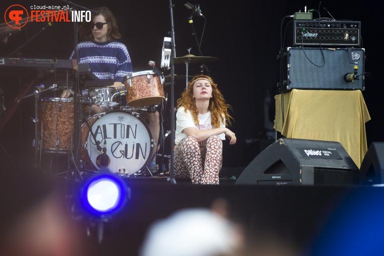 Altın Gün op Paleo Festival 2018 foto