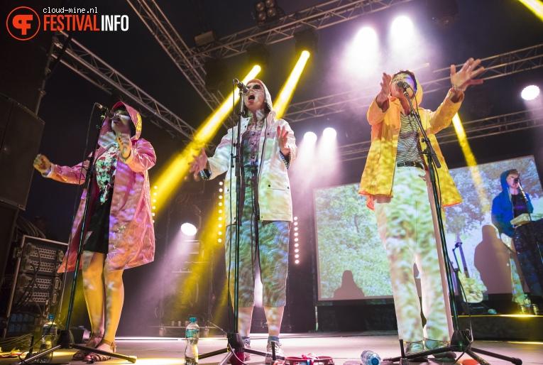 Superorganism op Paleo Festival 2018 foto