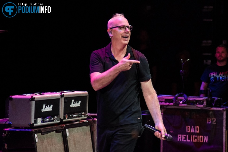 Foto Bad Religion op Bad Religion - 06/08 - TivoliVredenburg