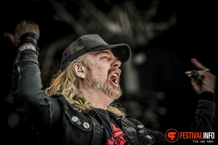 Foto At The Gates op Into The Grave 2018, Zaterdag