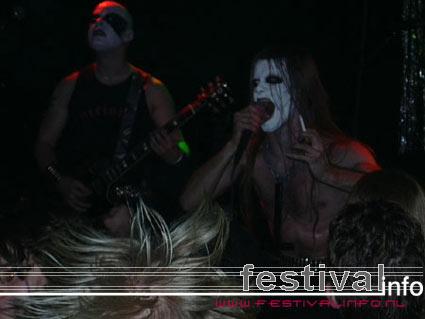 Impaled Nazarene op X-Mass Metalfest 2002 foto