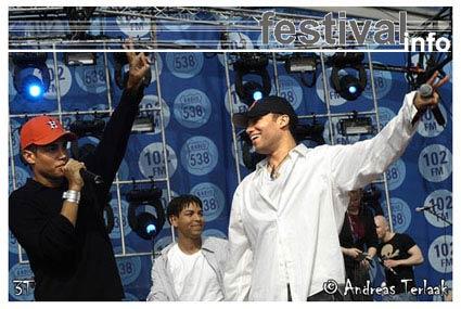 3T op Koninginnedag 2004 foto