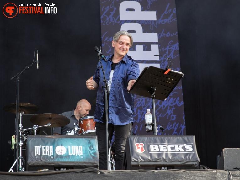 Peter Heppner op M'era Luna 2018 - Zondag foto