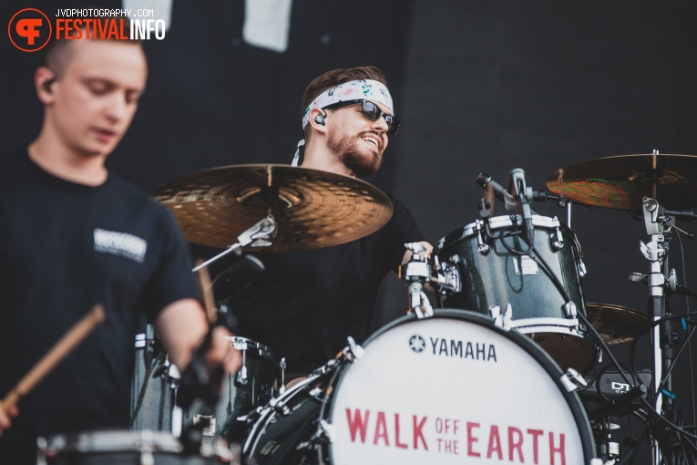 Walk off the Earth op Pukkelpop 2018 - Donderdag foto