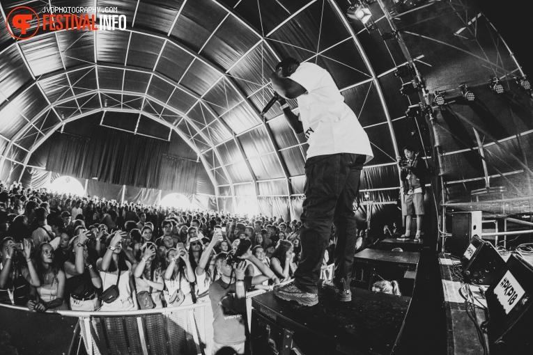 Yung Nnelg op Pukkelpop 2018 - Donderdag foto