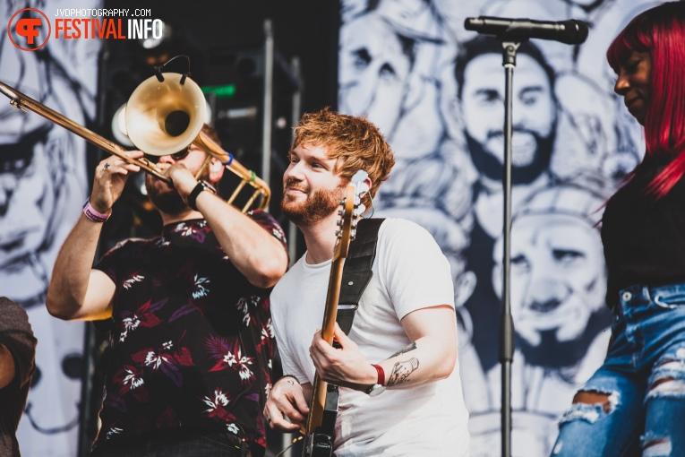 Rag'n'Bone Man op Pukkelpop 2018 - Donderdag foto