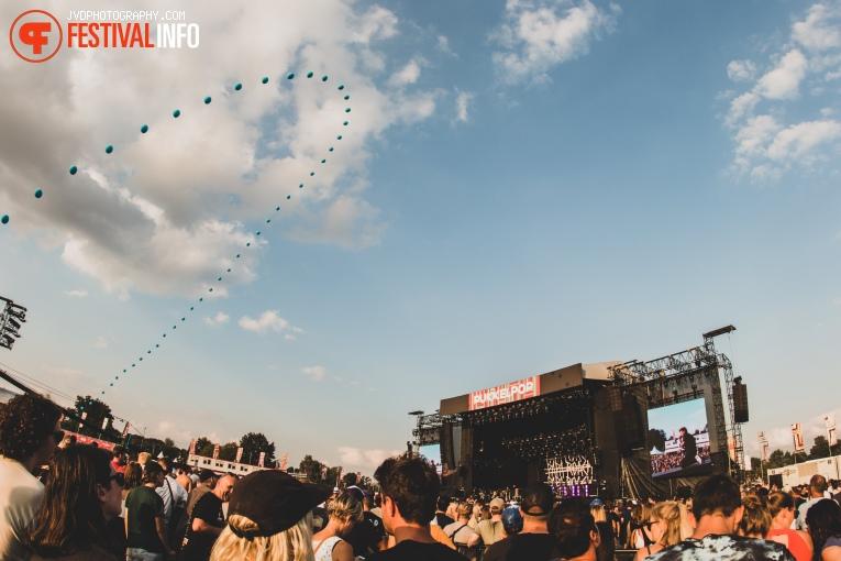 Foto Papa Roach op Pukkelpop 2018 - Vrijdag