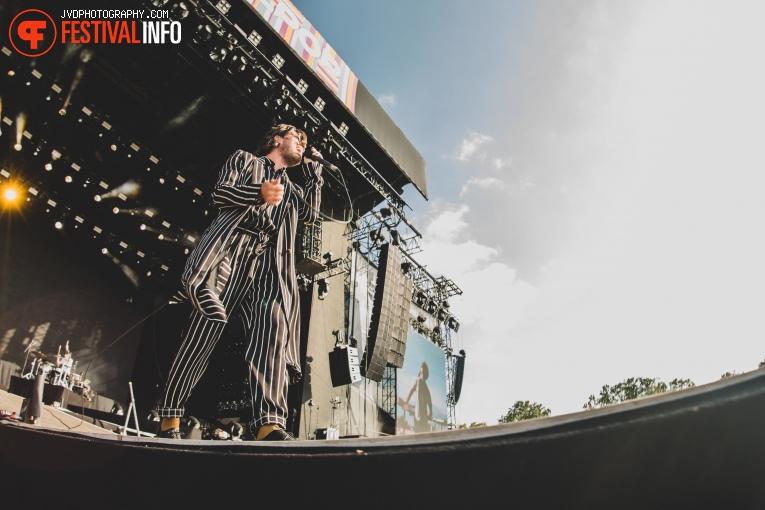 J. Bernardt op Pukkelpop 2018 - Zaterdag foto