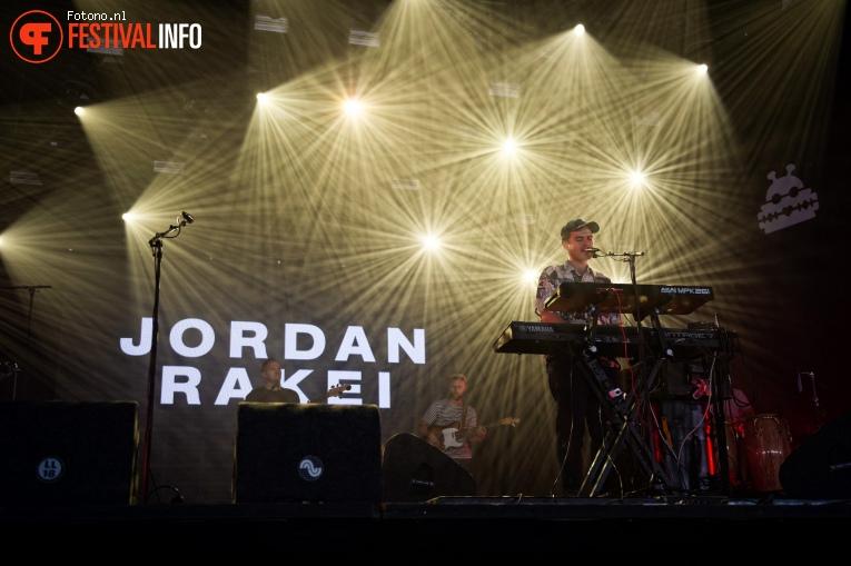 Foto Jordan Rakei op Lowlands 2018 - Vrijdag