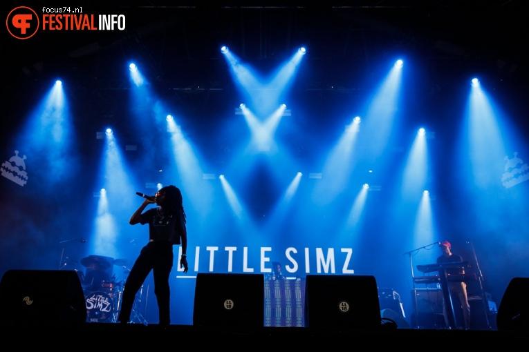 Little Simz op Lowlands 2018 - Vrijdag foto