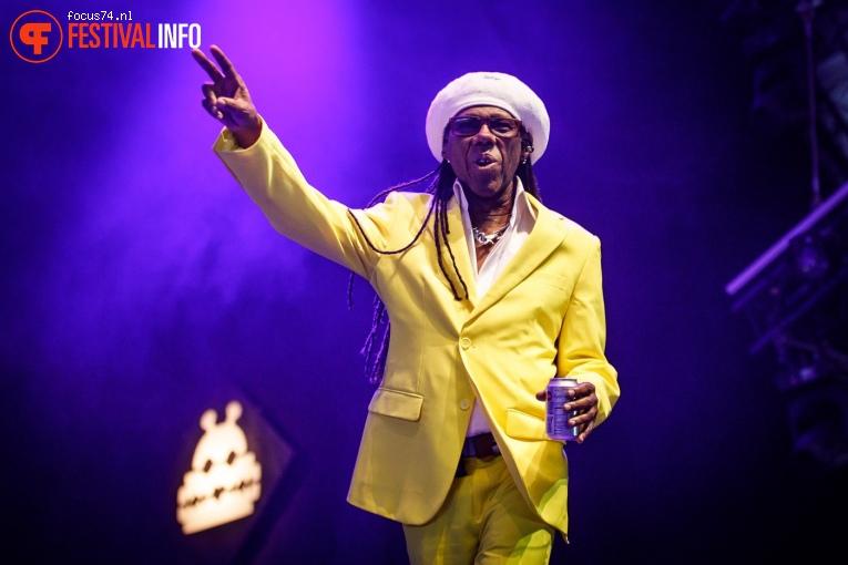 Nile Rodgers & Chic op Lowlands 2018 - Zaterdag foto