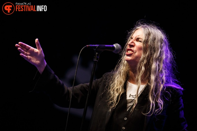 Foto Patti Smith op Lowlands 2018 - zondag