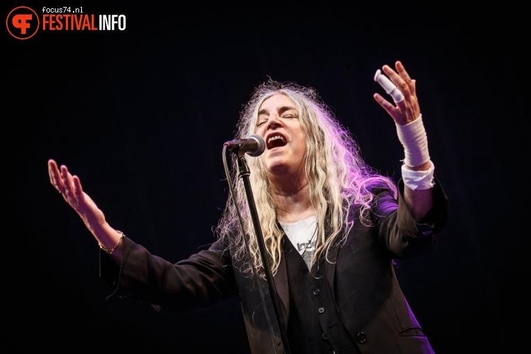 Patti Smith op Lowlands 2018 - zondag foto