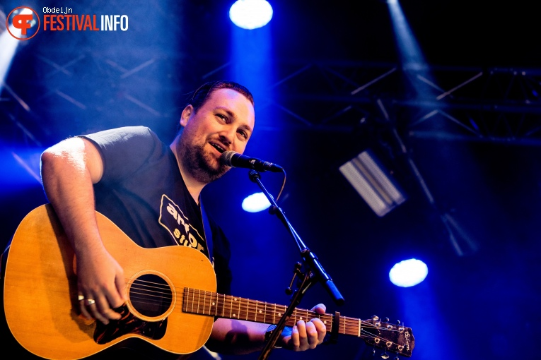 Foto Tim Knol op Once in a blue moon festival 2018