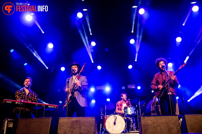 Foto The Dawn Brothers op Once in a blue moon festival 2018