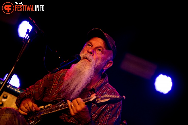 Foto Seasick Steve op Once in a blue moon festival 2018