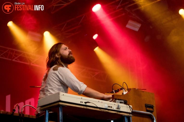 Foto DeWolff op Once in a blue moon festival 2018