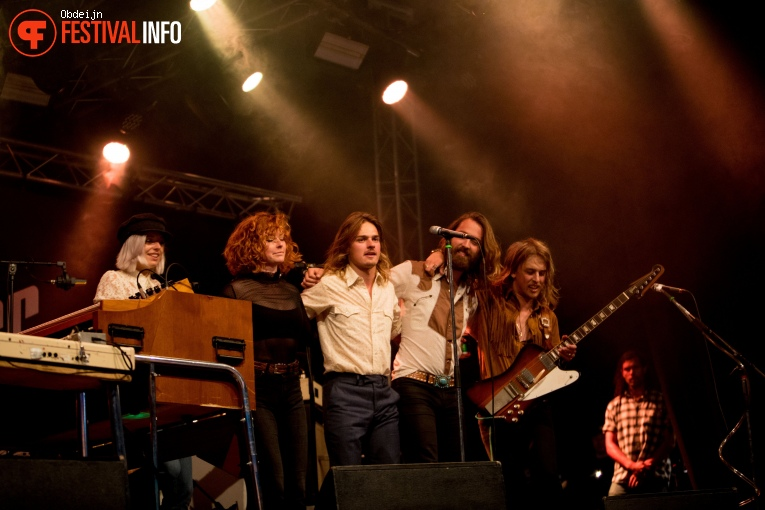 Foto DeWolff op Once in a blue moon festival 2018