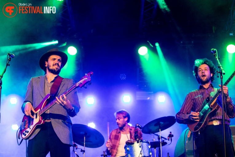 The Dawn Brothers op Once in a blue moon festival 2018 foto