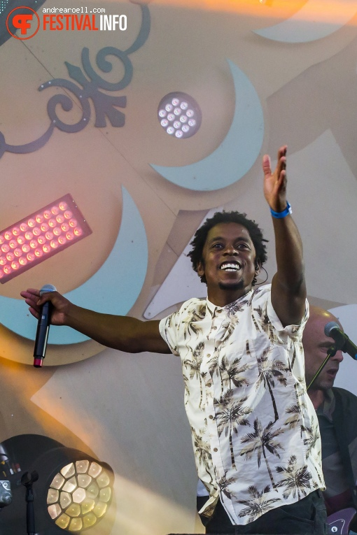 Typhoon op Strandfestival ZAND 2018 foto