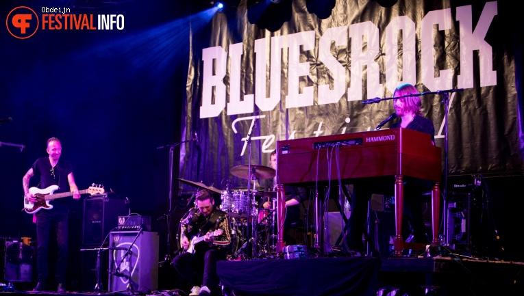 Robert Finley op Bluesrock Tegelen 2018 foto