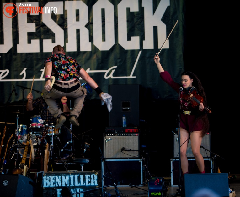 Ben Miller Band op Bluesrock Tegelen 2018 foto