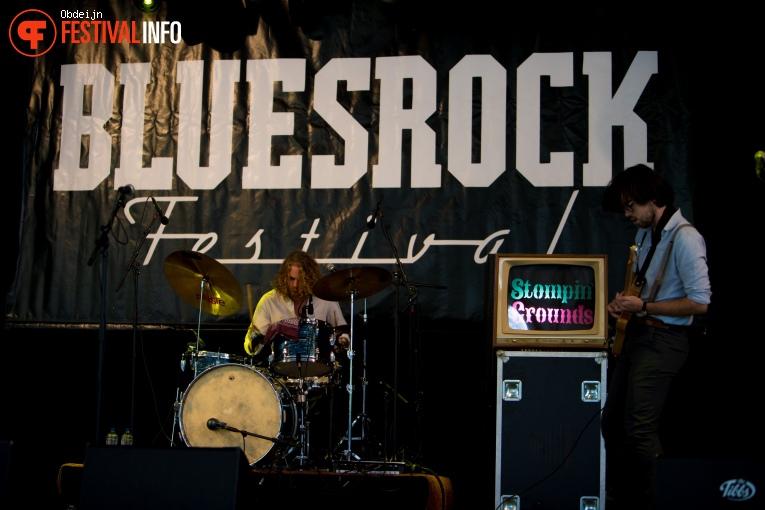 Stompin' Grounds op Bluesrock Tegelen 2018 foto