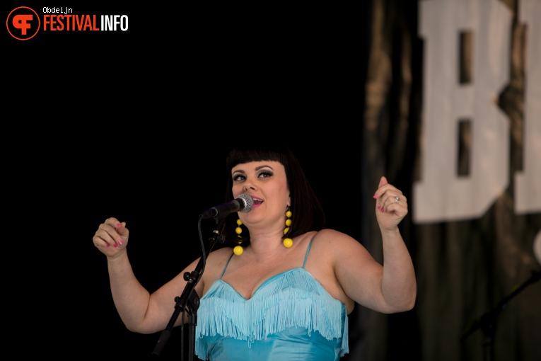 Tami Neilson op Bluesrock Tegelen 2018 foto