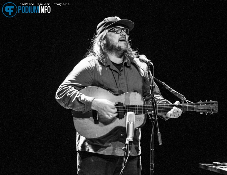 Jeff Tweedy op Jeff Tweedy - 03/09 - TivoliVredenburg foto