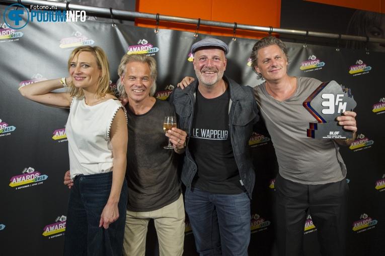 Foto Bløf op 3FM Awards 2018 - 05/09- AFAS Live