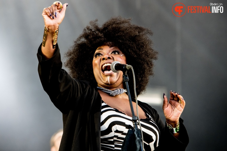 Foto Michelle David & The Gospel Sessions op Appelpop 2018
