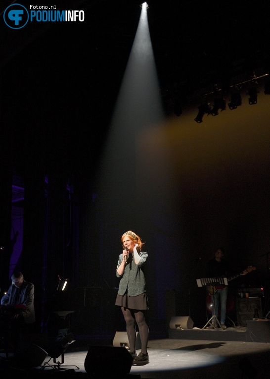 Christine de Boer op Muzikale Helden (generale repetitie) - 12/09 - De Kleine Komedie foto