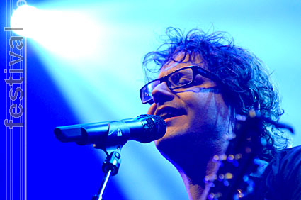 Guus Meeuwis op Paaspop Schijndel 2008 foto