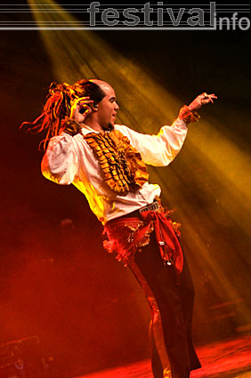 Foto Sirqus Alfon op Paaspop Schijndel 2008