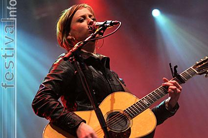 Stephanie Struijk op Paaspop Schijndel 2008 foto