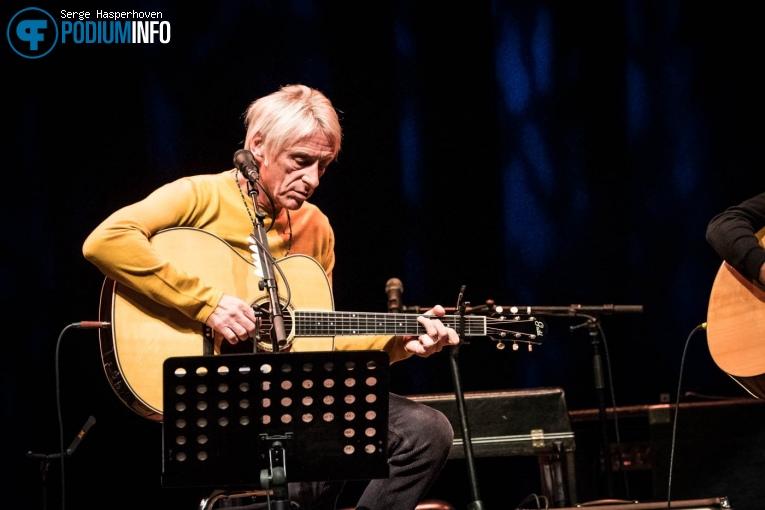 Paul Weller op Paul Weller - 04/10 - TivoliVredenburg foto