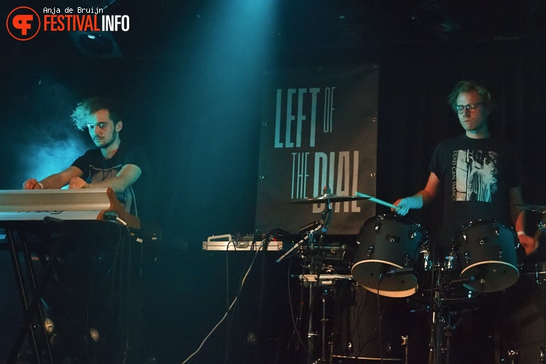 Foto Whispering Sons op Left of the Dial 2018