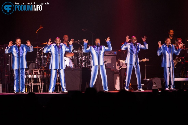 The Temptations op The Four Tops / The Temptations - 14/11 - AFAS Live foto