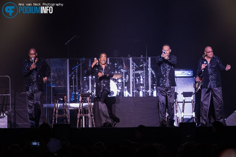 The Four Tops op The Four Tops / The Temptations - 14/11 - AFAS Live foto