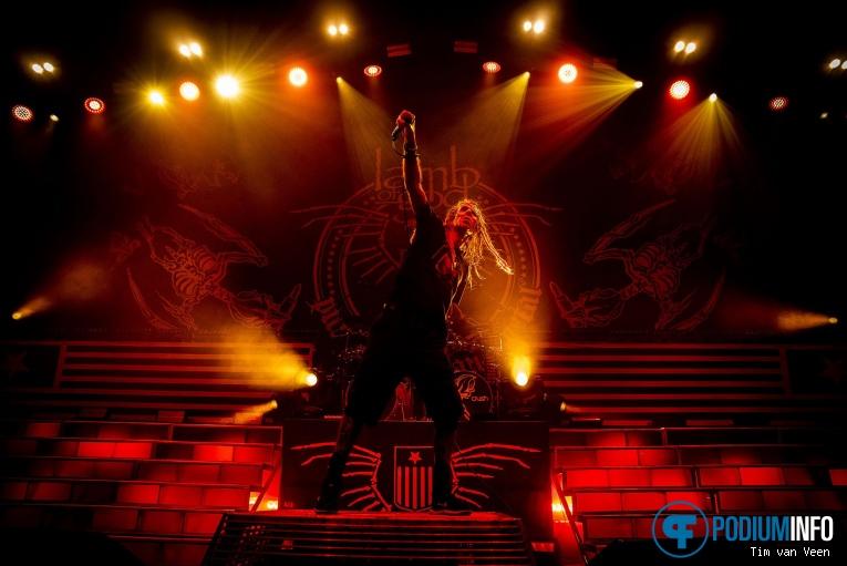Lamb Of God op Slayer - 15/11 - IJsselhallen foto