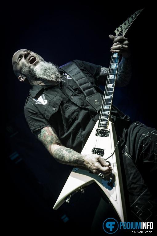 Anthrax op Slayer - 15/11 - IJsselhallen foto
