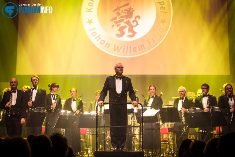 Koninklijke Militaire Kapel Johan Willem Friso op Benefietconcert 'Mag Ik Dan Bij Jou' - 26/11 - TivoliVredenburg foto