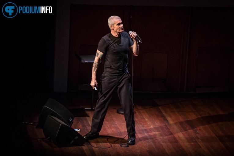 Henry Rollins op Henry Rollins - 28/11 - TivoliVredenburg foto