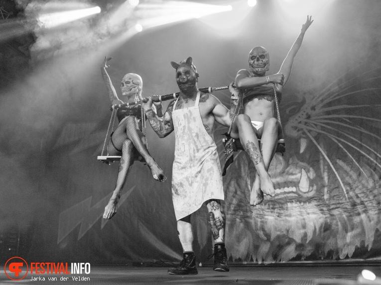 Cirque Du Mort op Helldorado 2018 foto